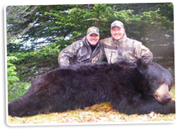 Dan Wallace and his 2009 Newfoundland Black Bear