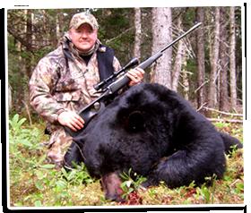 Paul Payne and his 2010 Newfoundland Black Bear