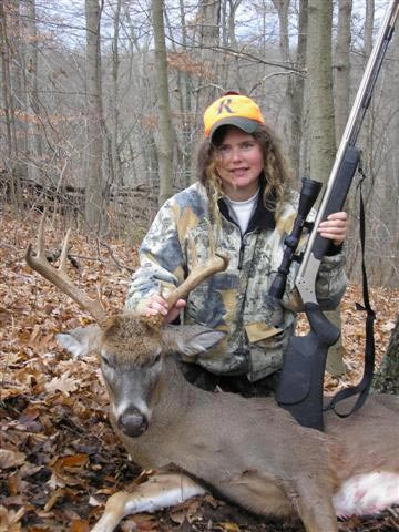 Lori Wallace - Ohio Muzzle Loader Buck