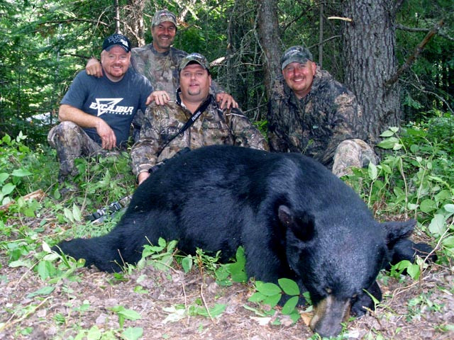 Sweepstakes Winner, Johnny McLaughlin - Ontario Bear