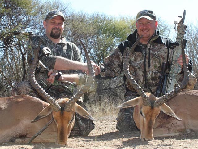 Karl Metzler and Dan Wallace double up on Impala