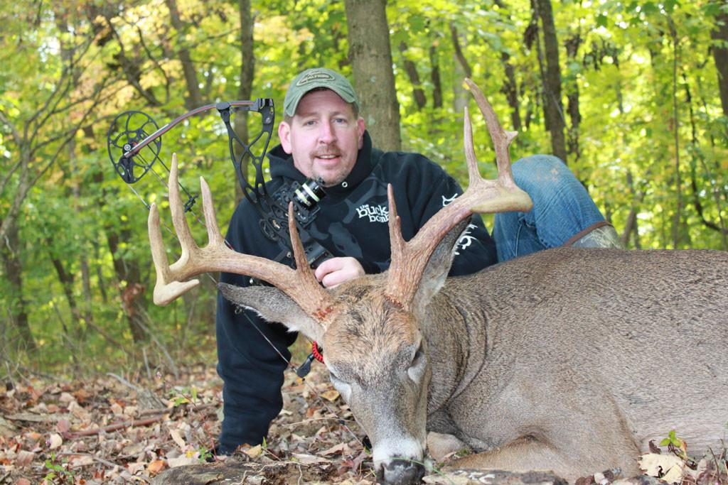 Darren Brown, the Buck Bomb - Ohio Whitetail
