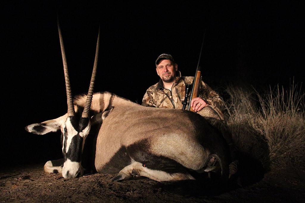 Karl Metzler - Gemsbok, Koringkoppie Safaris